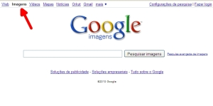 Buscador de imagens do Google